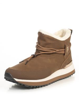 Ботинки коричневые   4741889