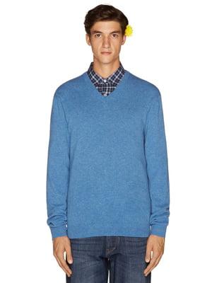 Пуловер синий   4523815