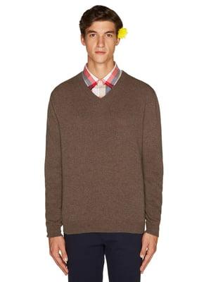 Пуловер коричневый | 4523818