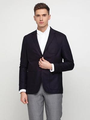 Піджак темно-синій | 4601093