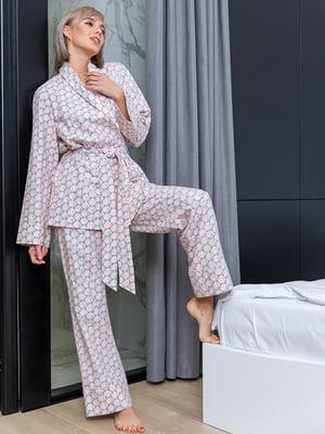 Пижама: халат и брюки | 4866823