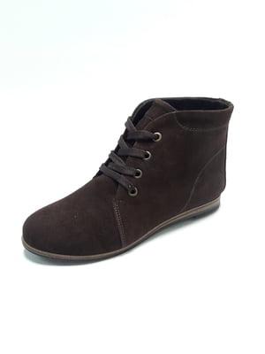 Черевики коричневі | 4867559