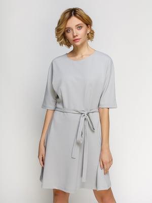 Сукня світло-сіра | 4546057