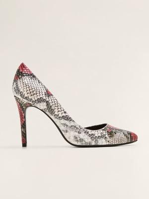 Туфли анималистичной расцветки | 4861038