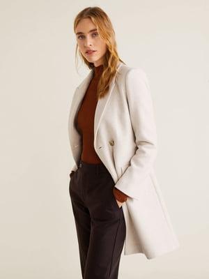 Пальто молочного цвета | 4861077