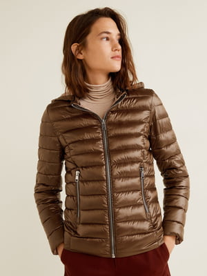 Куртка бронзового цвета | 4861128