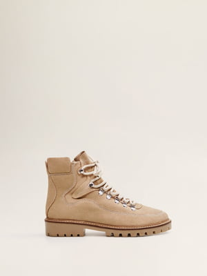 Ботинки бежевые | 4861171