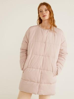 Пальто цвета пудры | 4861185