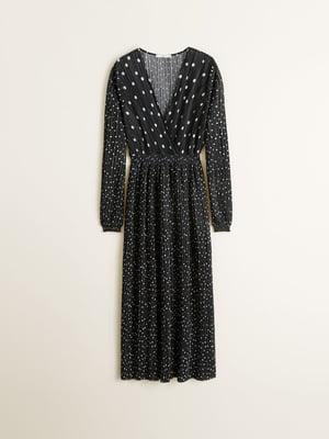 Платье черное в горошек   4867040