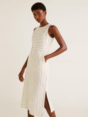 Платье в полоску   4861005