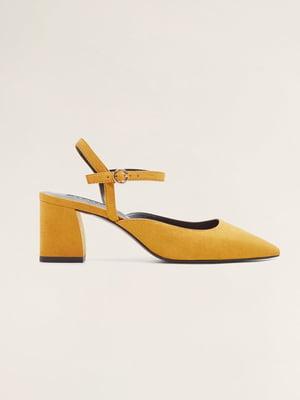 Туфли горчичного цвета | 4861139