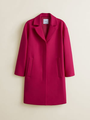 Пальто цвета фуксии | 4866911