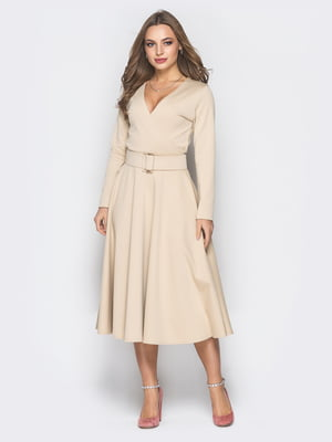 Платье бежевое | 4868179