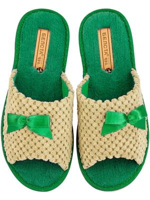 Тапочки зелені | 4868152