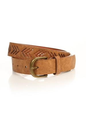 Ремінь коричневий   4556415