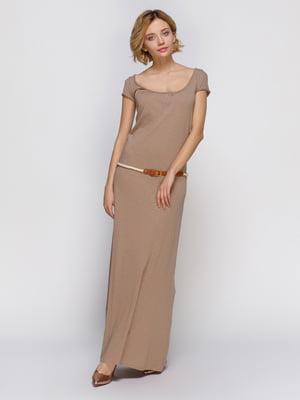 Платье бежевое | 4632573