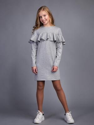 Платье серое | 4866675