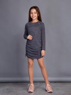 Сукня графітового кольору   4866679