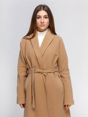 Пальто песочного цвета | 4545592