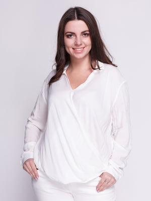 Блуза белая   4546615