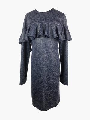 Сукня кольору індиго   4866676