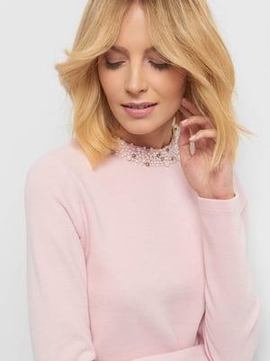 Джемпер розовый | 4865752