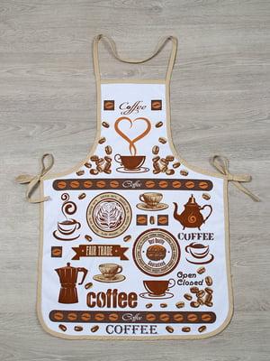 Фартук кофейного цвета | 4857780