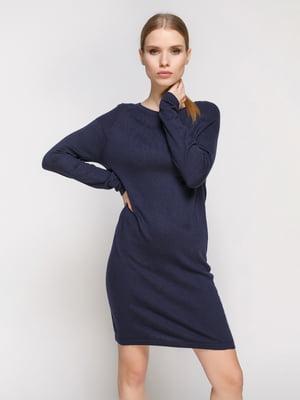 Платье темно-синее | 2004419