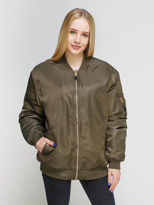 Куртка кольору хакі | 4545594