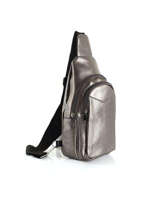 Рюкзак серебристый   4871838