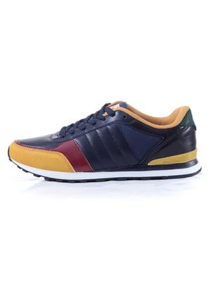 Кроссовки трехцветные | 4654567