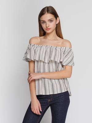 Блуза в полоску   4550684