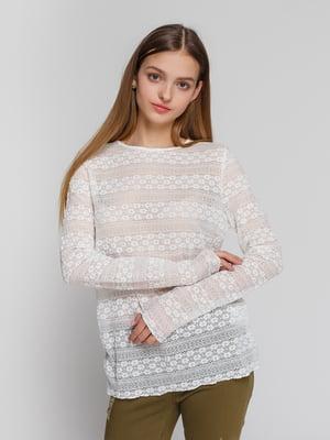 Блуза біла | 4545605
