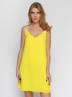 Сарафан желтый | 4541268
