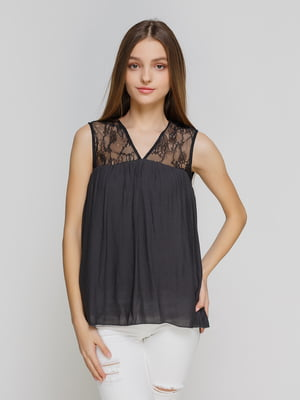 Блуза черная | 3791499