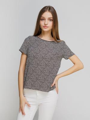 Блуза анімалістичного забарвлення | 4628472