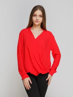 Блуза красная | 4546608