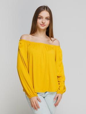 Блуза желтая | 4545859