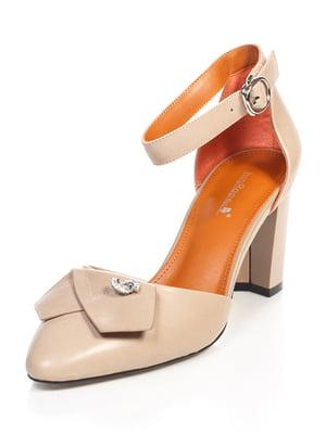 Туфли бежевые | 4716168