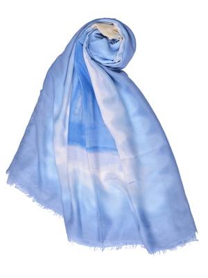 Палантин голубой | 4875243