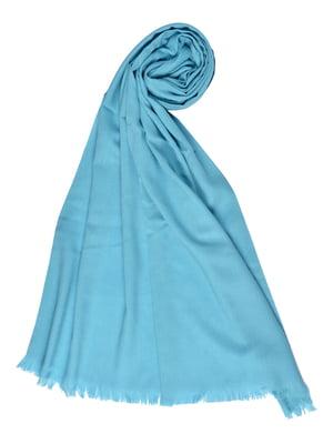Палантин блакитний | 4875250