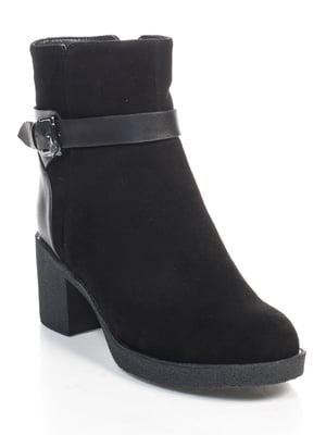 Ботинки черные | 4609485