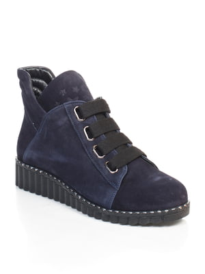 Ботинки синие | 4730696