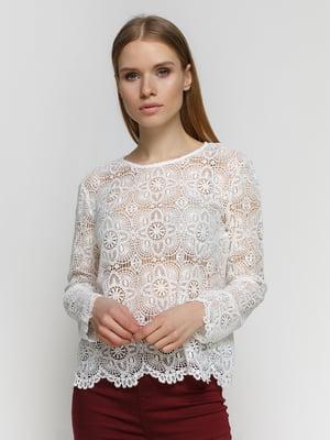 Блуза белая | 4545593