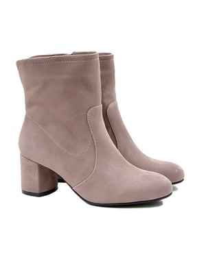 Ботинки цвета латте | 4876988
