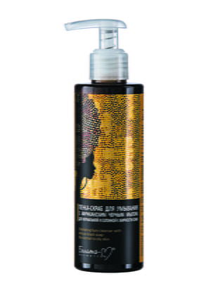 Пенка-скраб для умывания с африканским черным мылом для нормальной и склонной к жирности кожи (190 мл) | 4877065