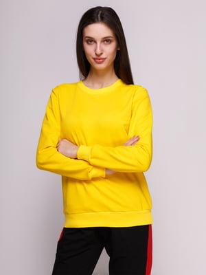 Свитшот желтый | 4876329