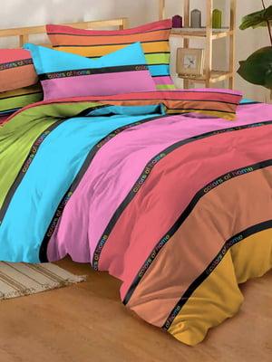 Комплект постельного белья двуспальный (евро) | 4764693