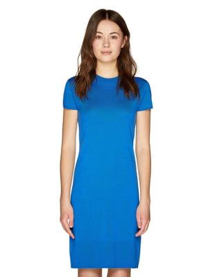 Платье синее | 4863873
