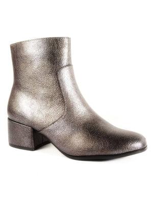 Ботинки серебристые | 4877793